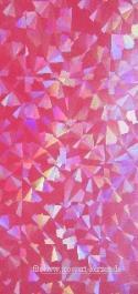 Wachsplatte fuchsia diamanteffekt